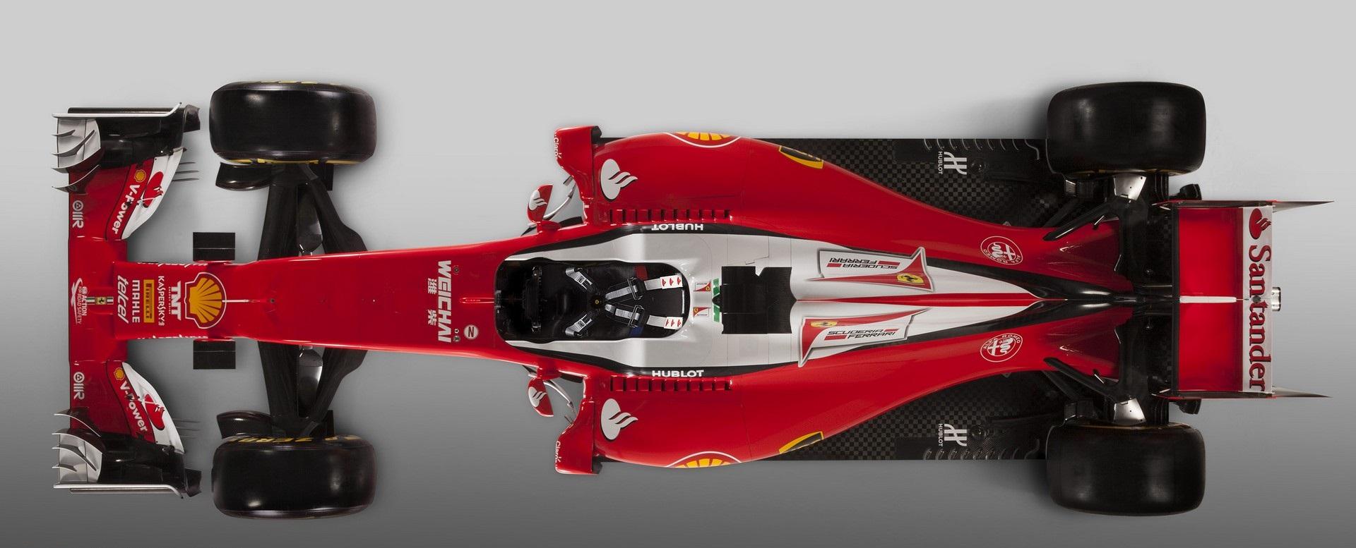 Kompakt és innovatív a Ferrari SF16-H