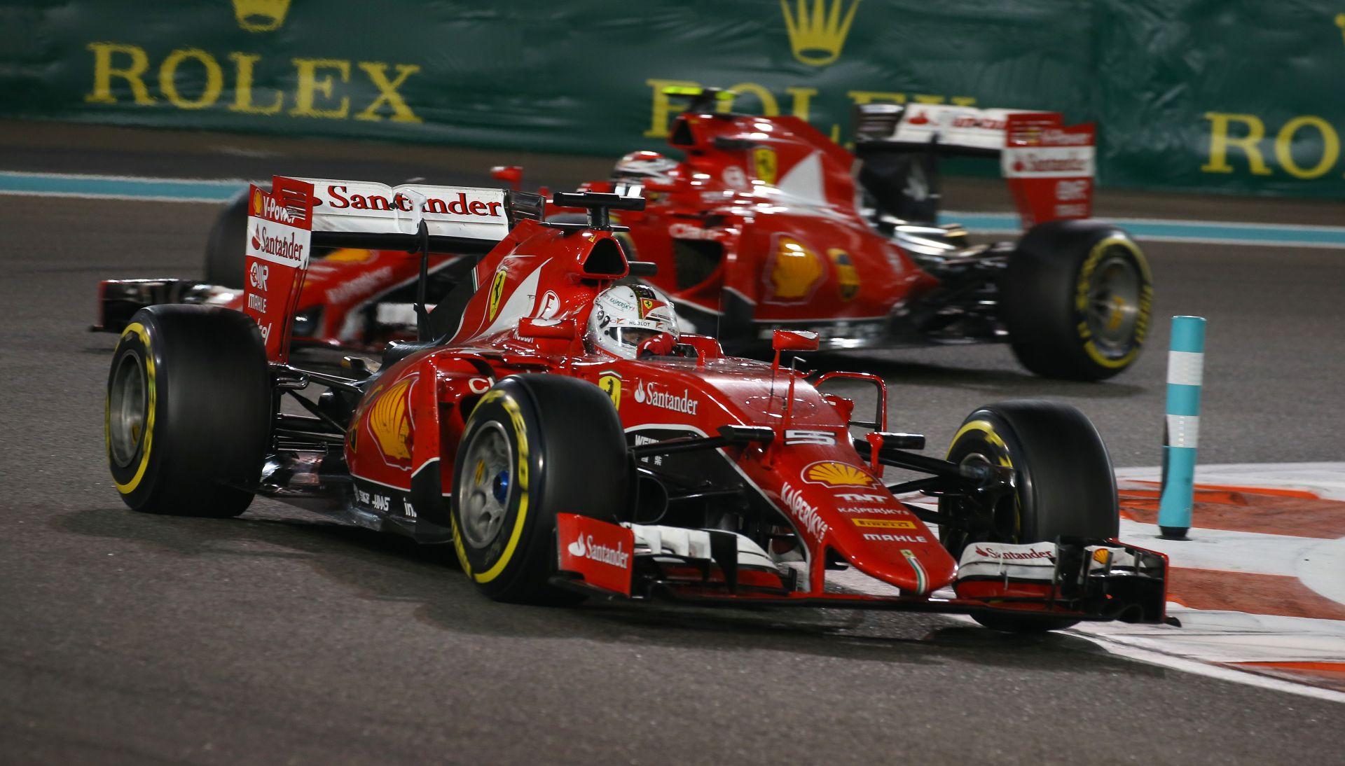 Tűzijátékot akar látni a Ferrari Vettel és Raikkönen között 2016-ban
