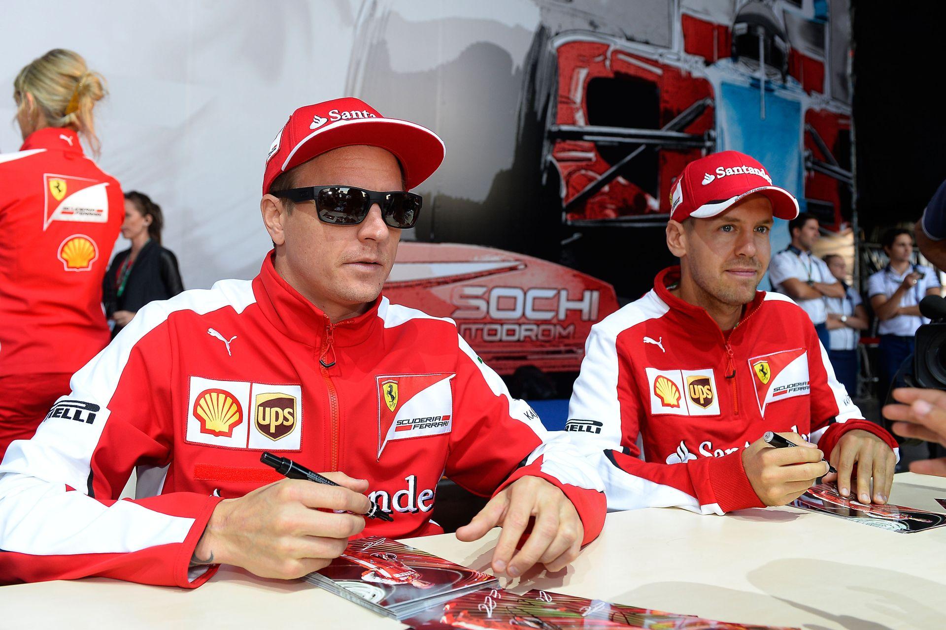 Szavazás: Raikkönen idén sem fogja legyőzni Vettelt a Ferrarinál!