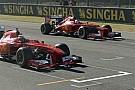 Ilyen F1-es parádét is ritkán láthatsz: Vettel és Raikkönen is pályára gurult Mugellóban