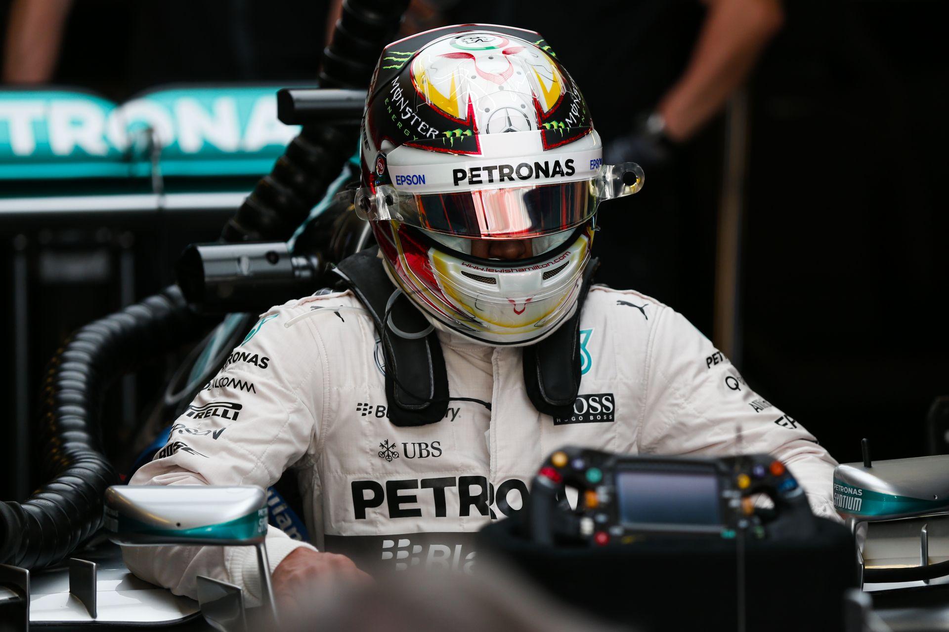 """Hamilton valami egész mást próbált meg Abu Dhabiban: """"Hááát..."""""""