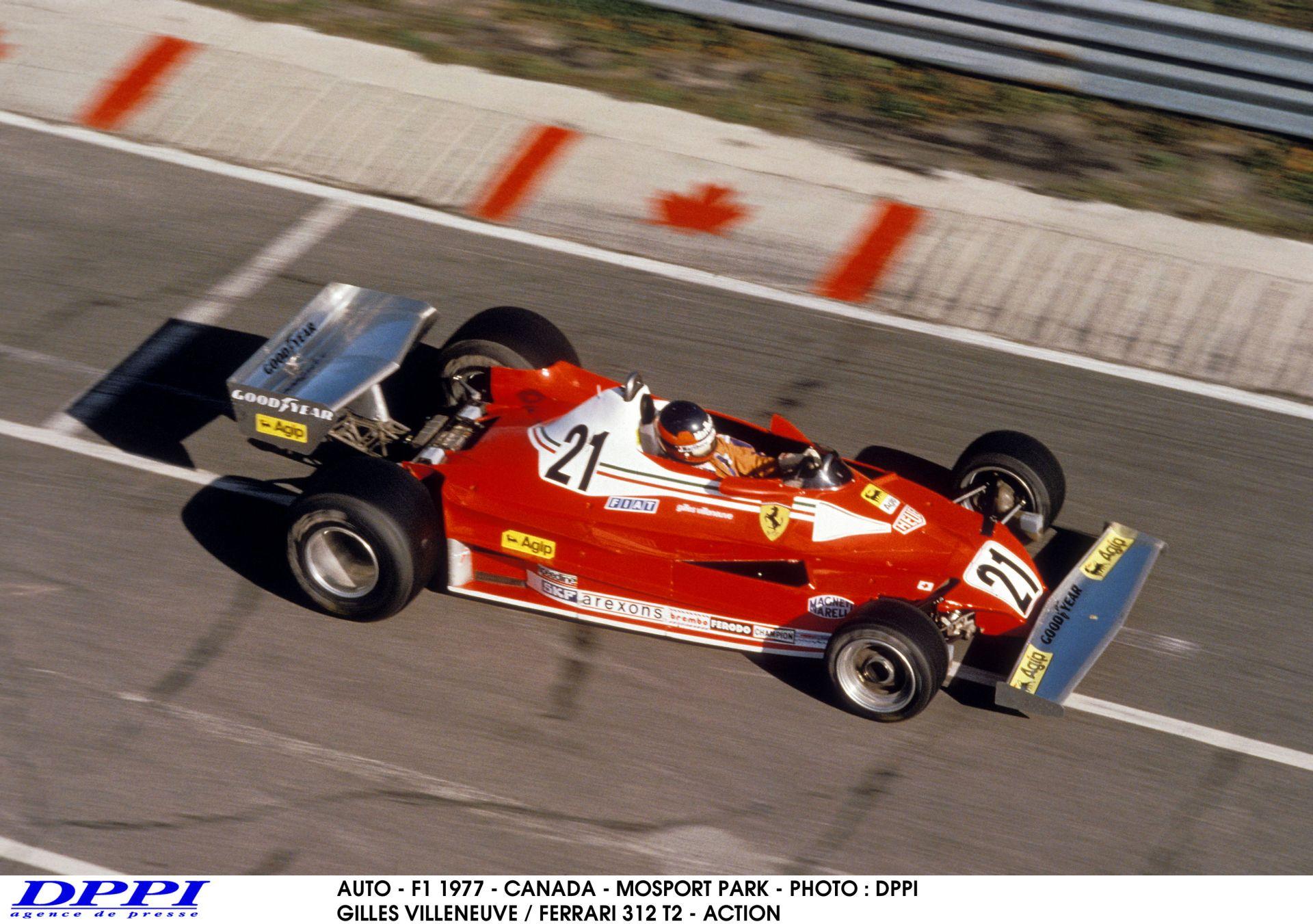 Gilles Villeneuve ezen a napon debütált a Ferrari színeiben