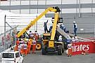 Carlos Sainz 309.4 km/óránál vesztette el az uralmát Toro Rossója felett!