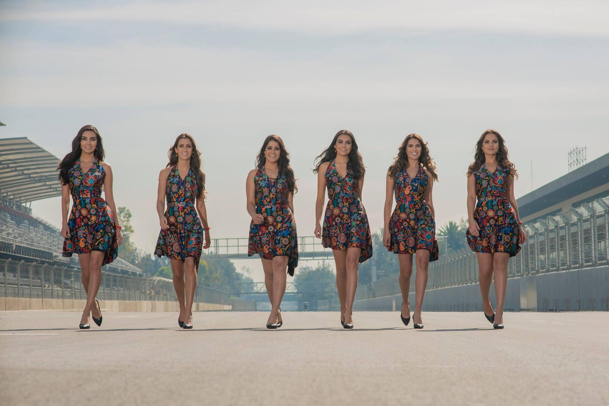 Bemutatták a mexikói F1-es rajtrács-lányokat és a ruházatot: 10-ből 10?