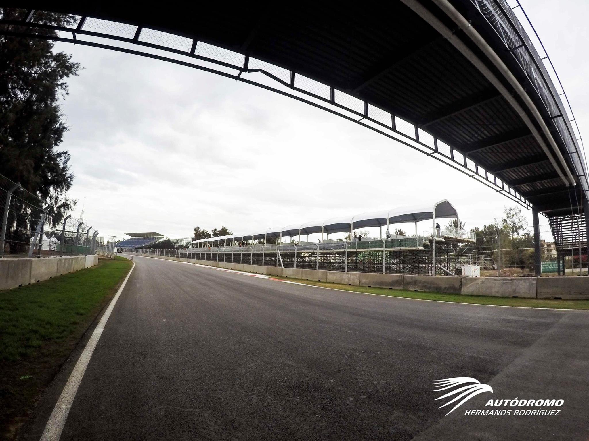 Egy újabb részlet a teljesen megújult mexikói F1-es versenypályáról