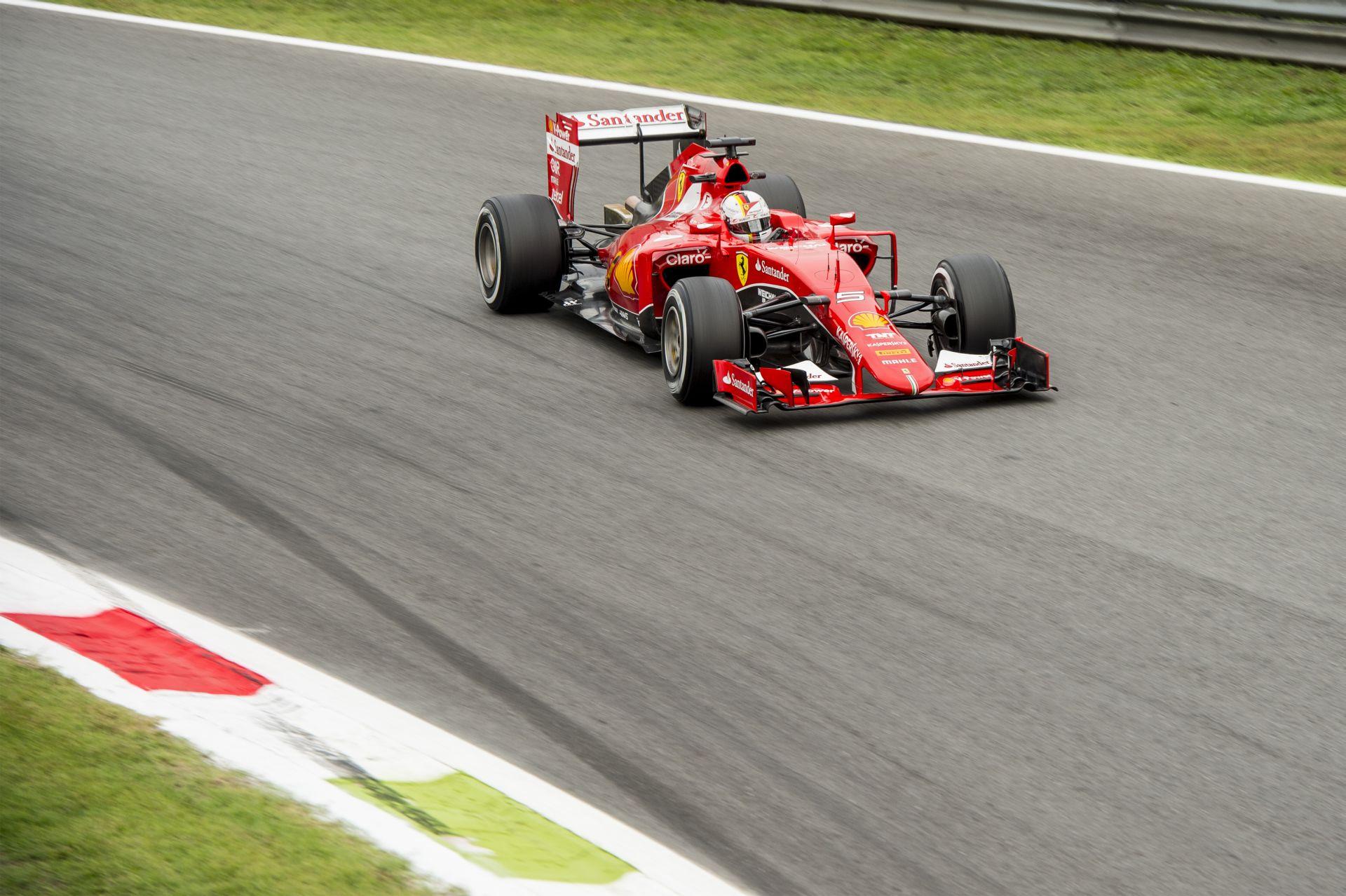 Olasz Nagydíj 2015: Vettel Q3-as időmérős köre Monzából (onboard)