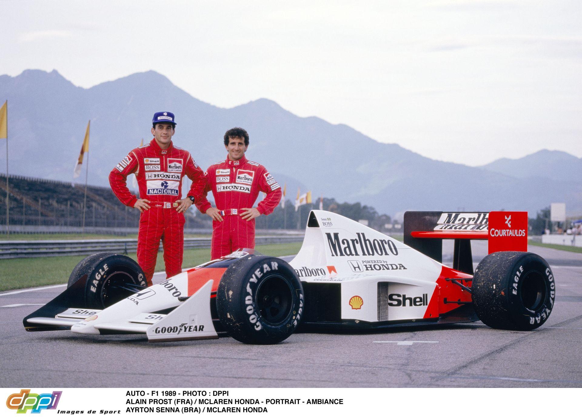 Ayrton Senna 1989-es köre Suzukából James Hunt kommentálásában