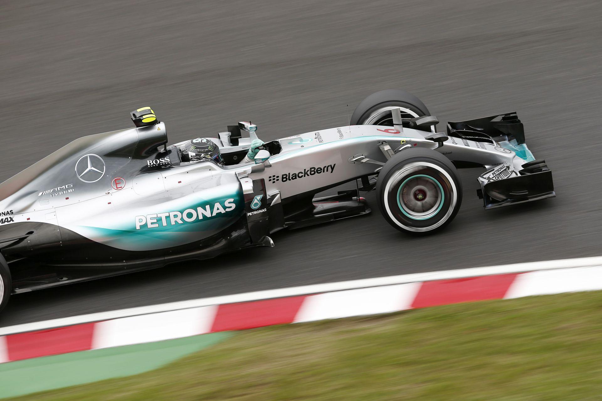 A Mercedes majd kiugrik a bőréből örömében: a japán győzelemmel visszatértek az élre!