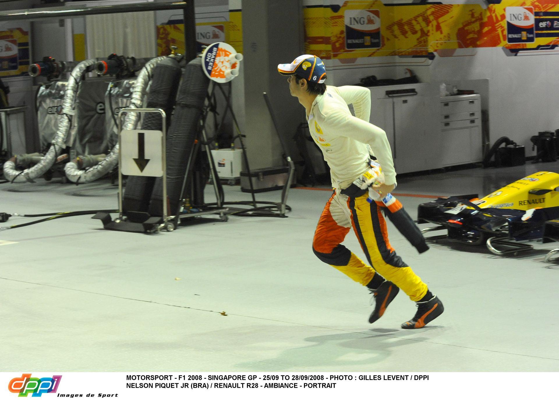 A nap, amire Massa biztosan nem akar emlékezni: Piquet a falban, Alonso nyer Szingapúrban