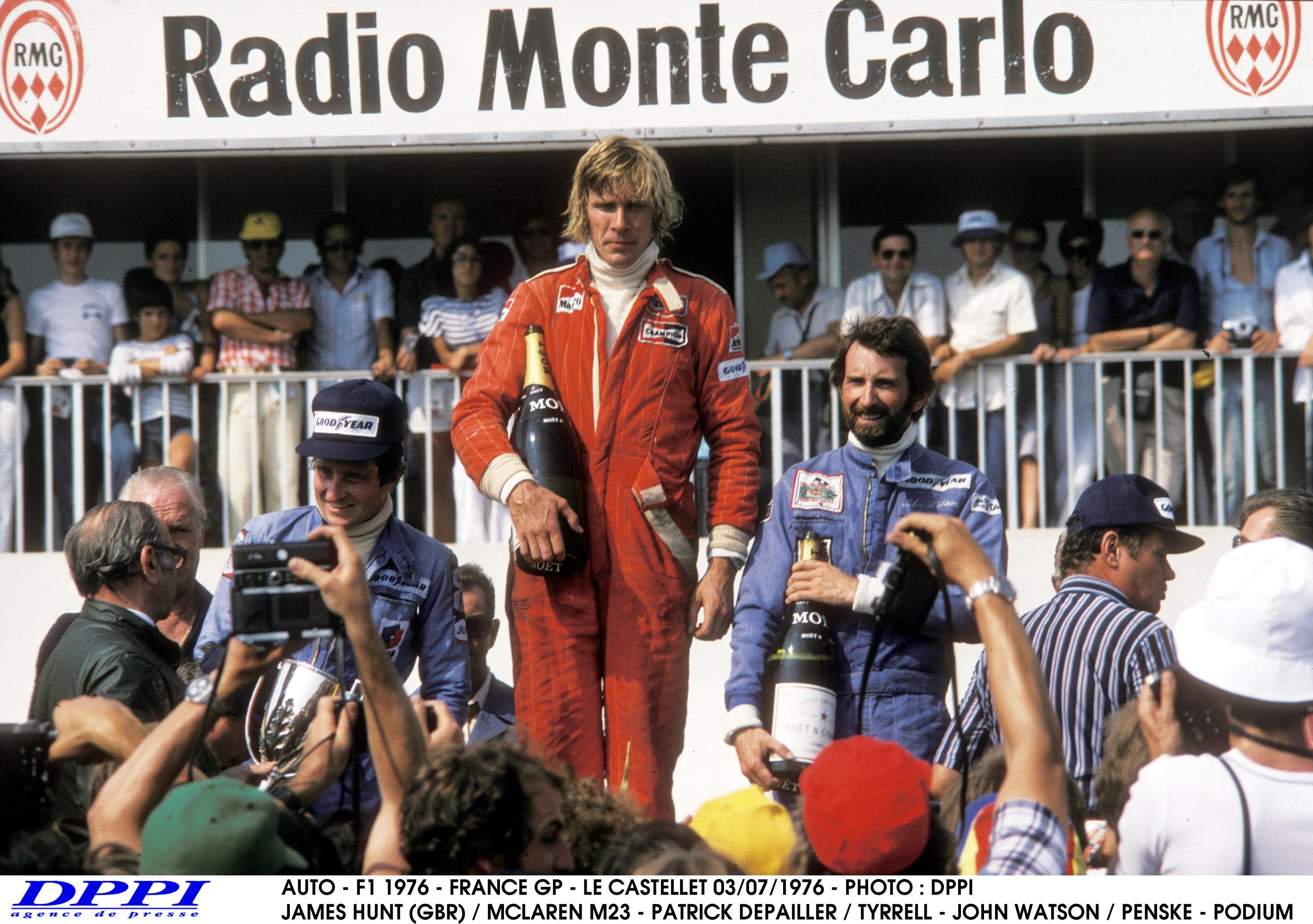 1976. augusztus 15: James Hunt a pole-ban, de vajon ő nyert Ausztriában?