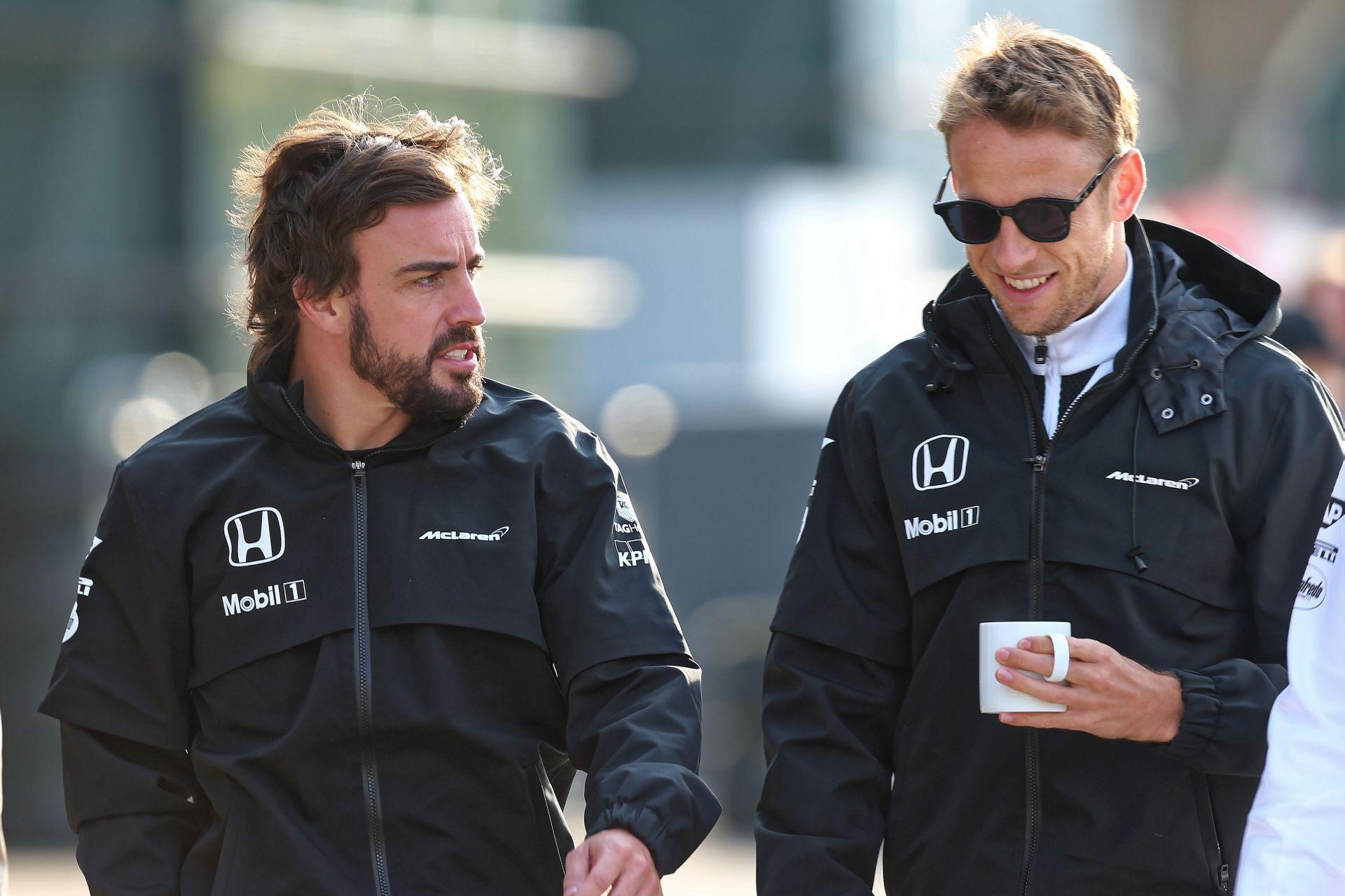 Button&Alonso: a McLaren-Honda 2015-ös céljai megváltoztak