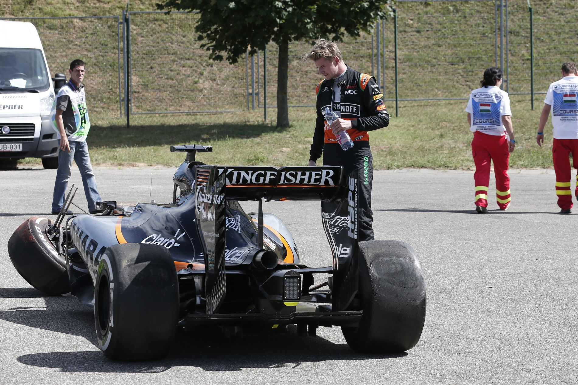 A Force India szerint jó esélyük van Hülkenberg megtartására