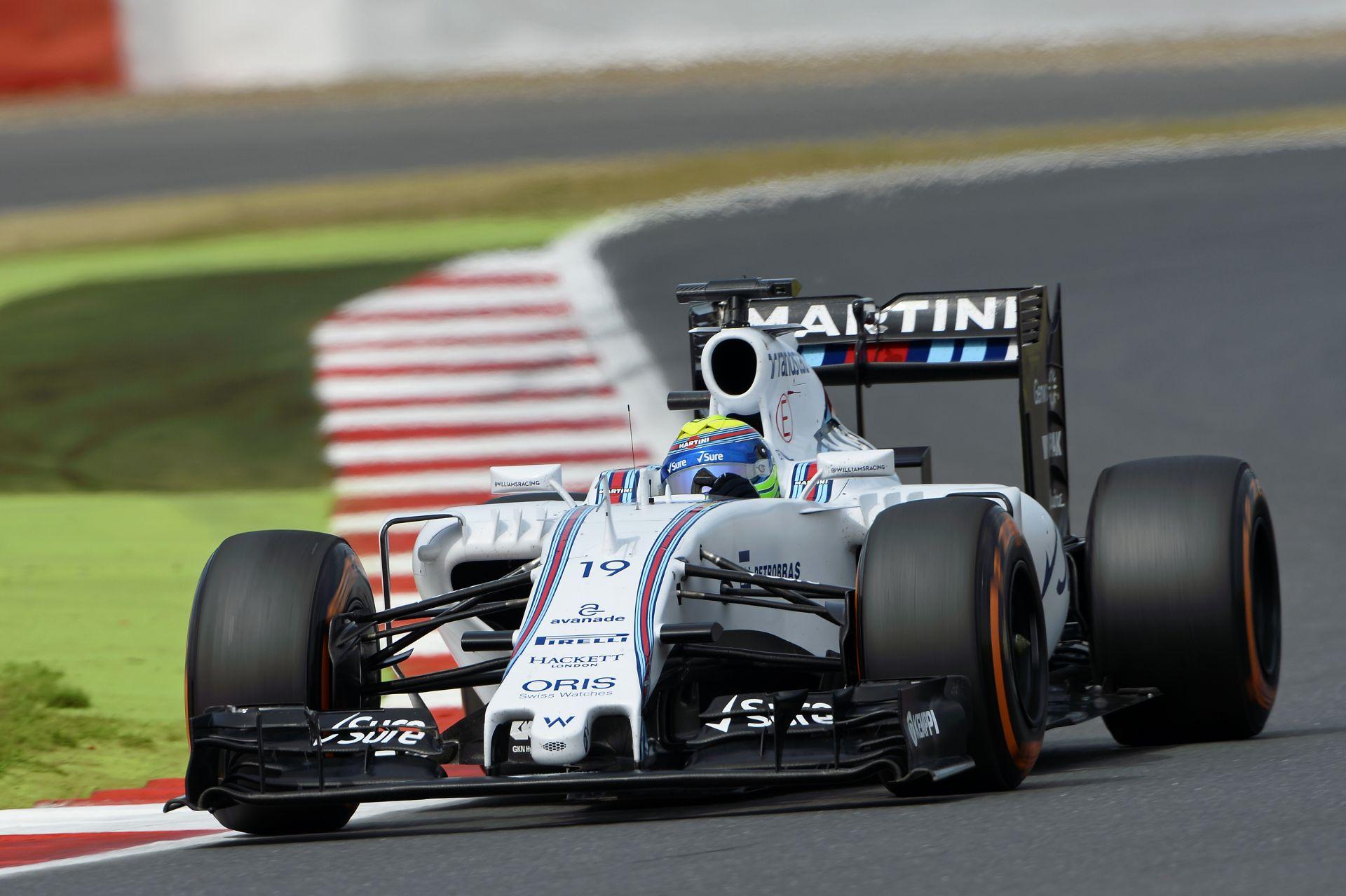 A Williamsnek ugorhat a dobogó Silverstone-ban: Még a Ferrari bakija is kevés lehet