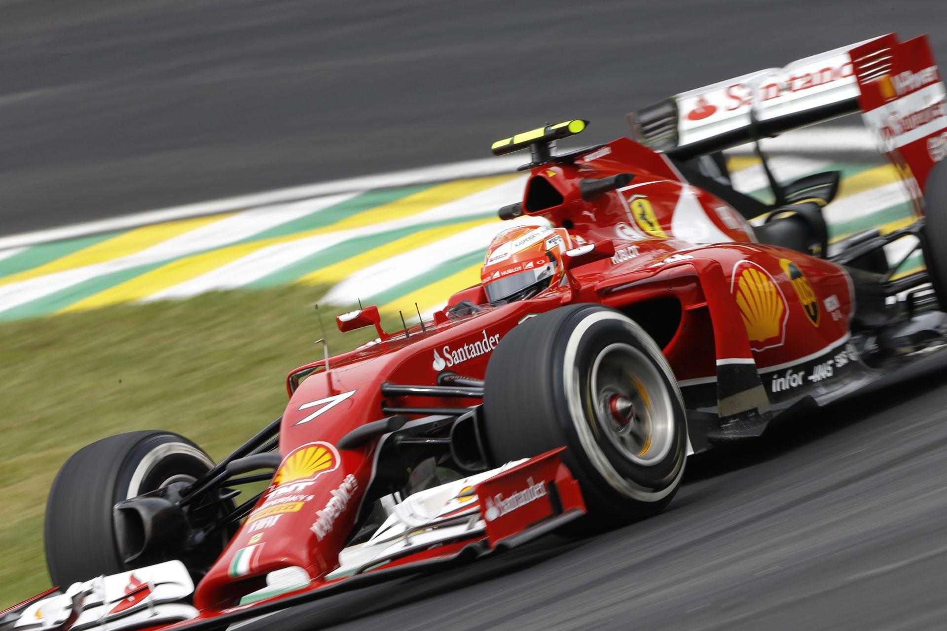 Ferrari: Alonso és Raikkönen is óvatos, mivel tudják, hogy az eső mindent felboríthat