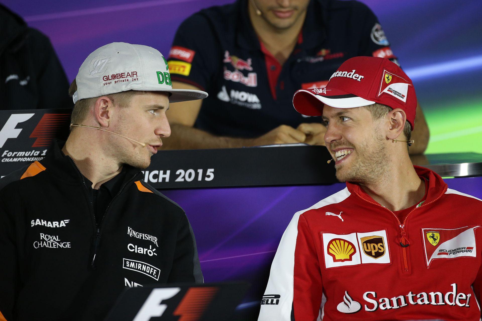 Hülkenberg továbbra is opció a Ferrarinál Raikkönen helyére