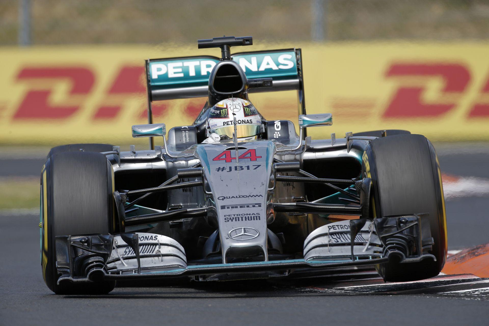 Hamilton: A Magyar Nagydíjon egyszerűen túl sok hibát vétettem...