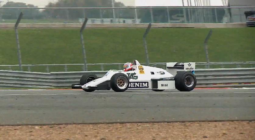 Felipe Nasr megkapta Keke Rosberg 1983-as Williamsét