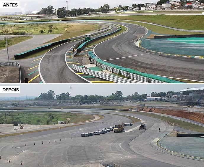 Így alakul át a brazil F1-es pálya: Lényegesen szélesebb bokszkijárat