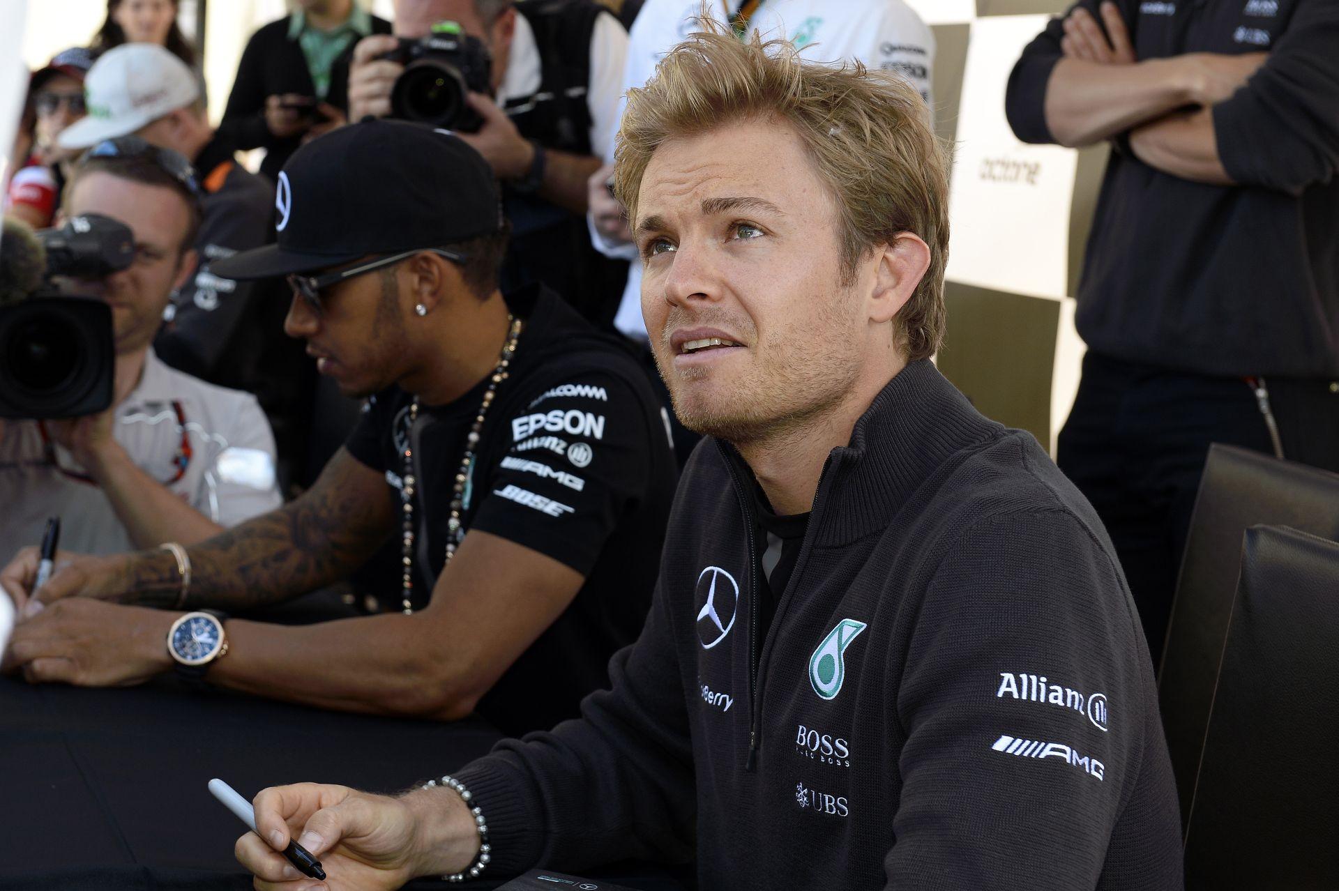 Rosberg: Igen közel van a Ferrari…