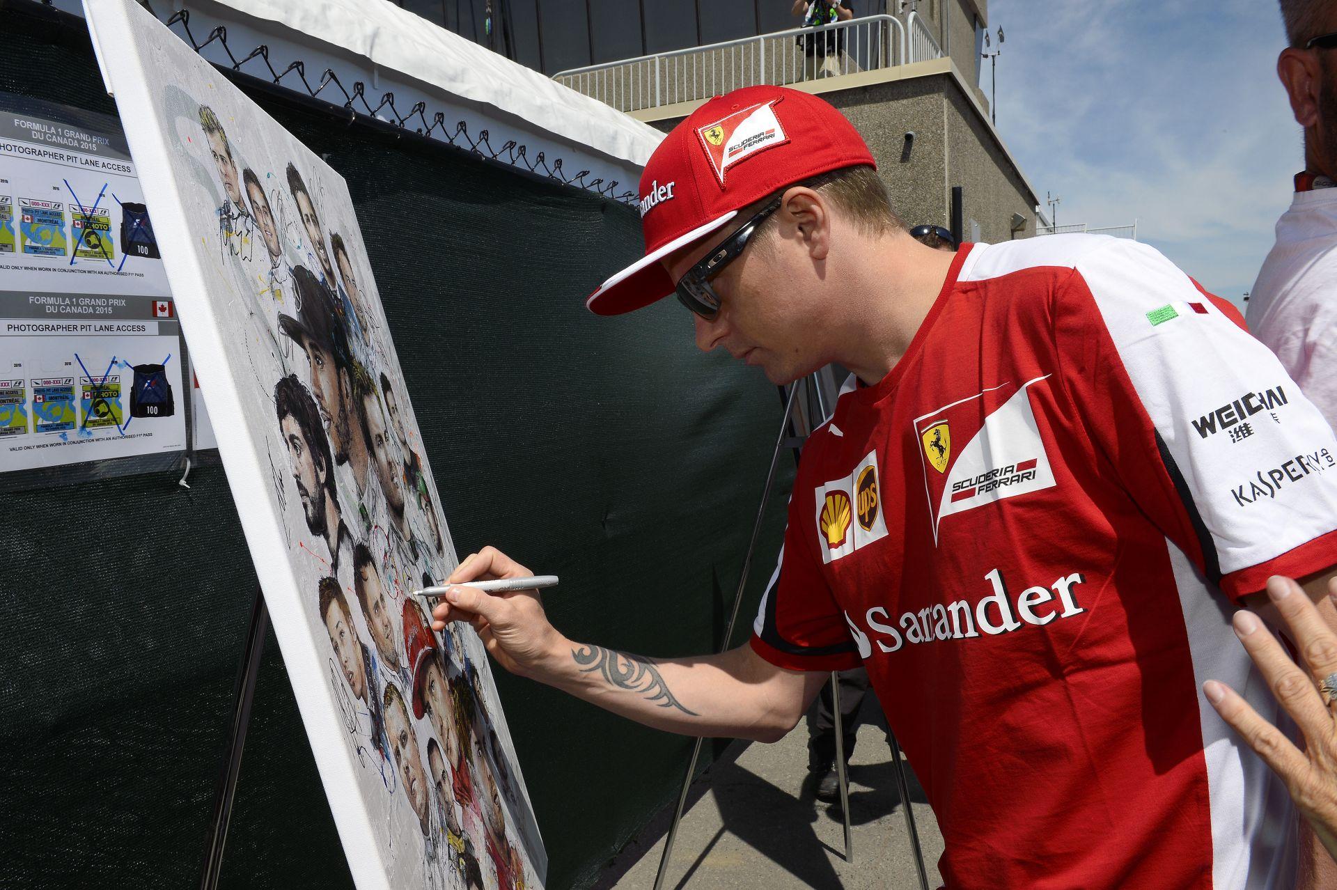 Egyre nagyobb veszélyben van Raikkönen ülése a Ferrarinál