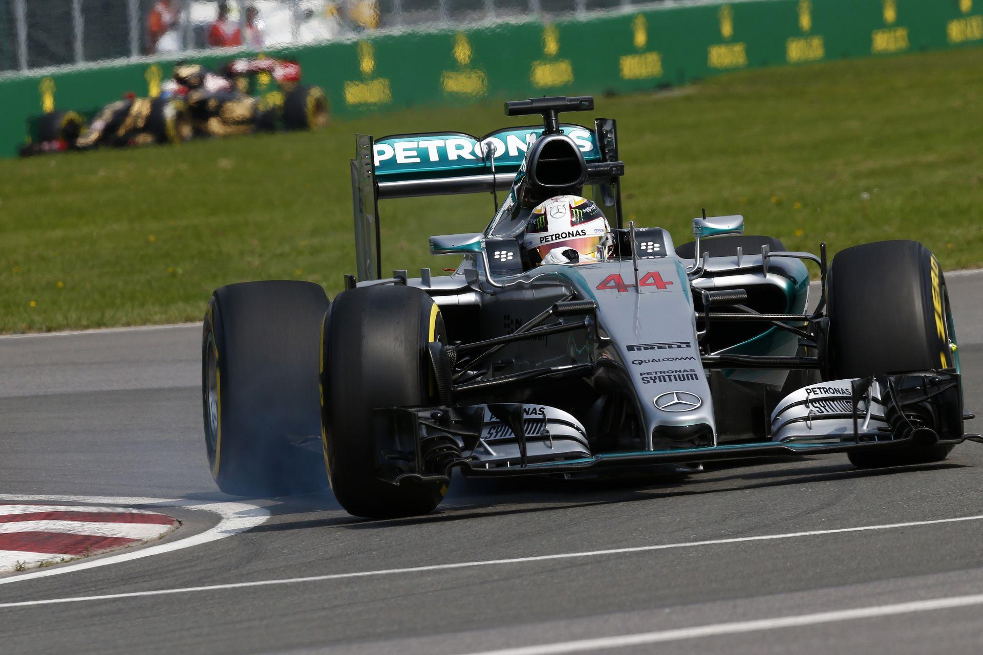 Hamilton: A Forma-1-es játék neve üzemanyag-spórolás - nincs ezzel baj