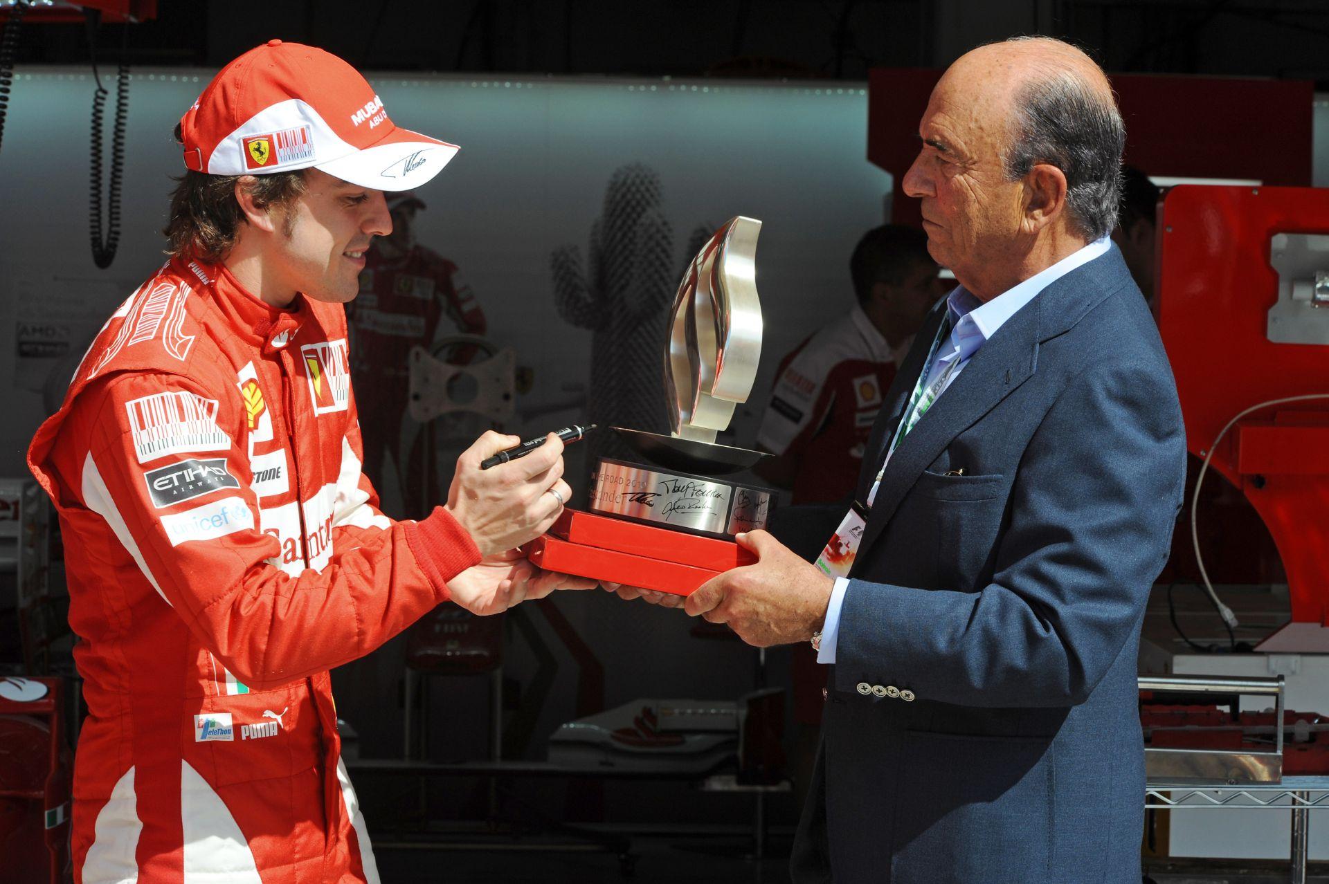 Elhunyt Alonso egyik legnagyobb támogatója, a Santander elnöke
