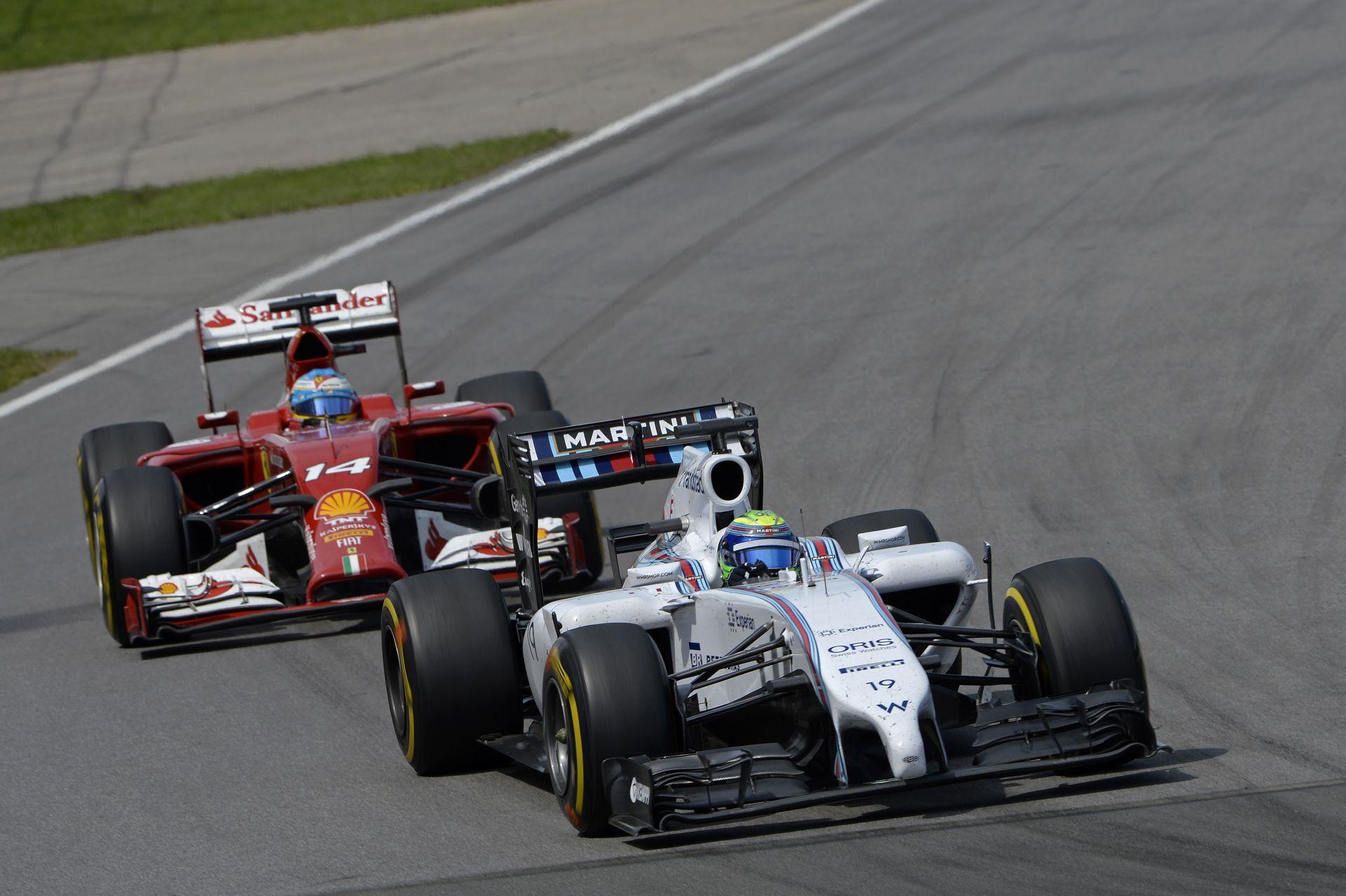 Williams: Bottas a Ferrarit, Massa a Red Bullt győzné le az év végén
