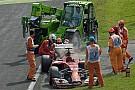 Veszélyzónában a két Ferrari és