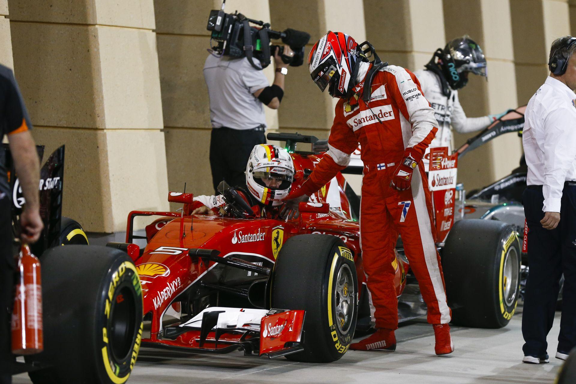 Kimi lenne a tökéletes csapattárs Vettelnek? Ha úgy nézzük... IGEN!