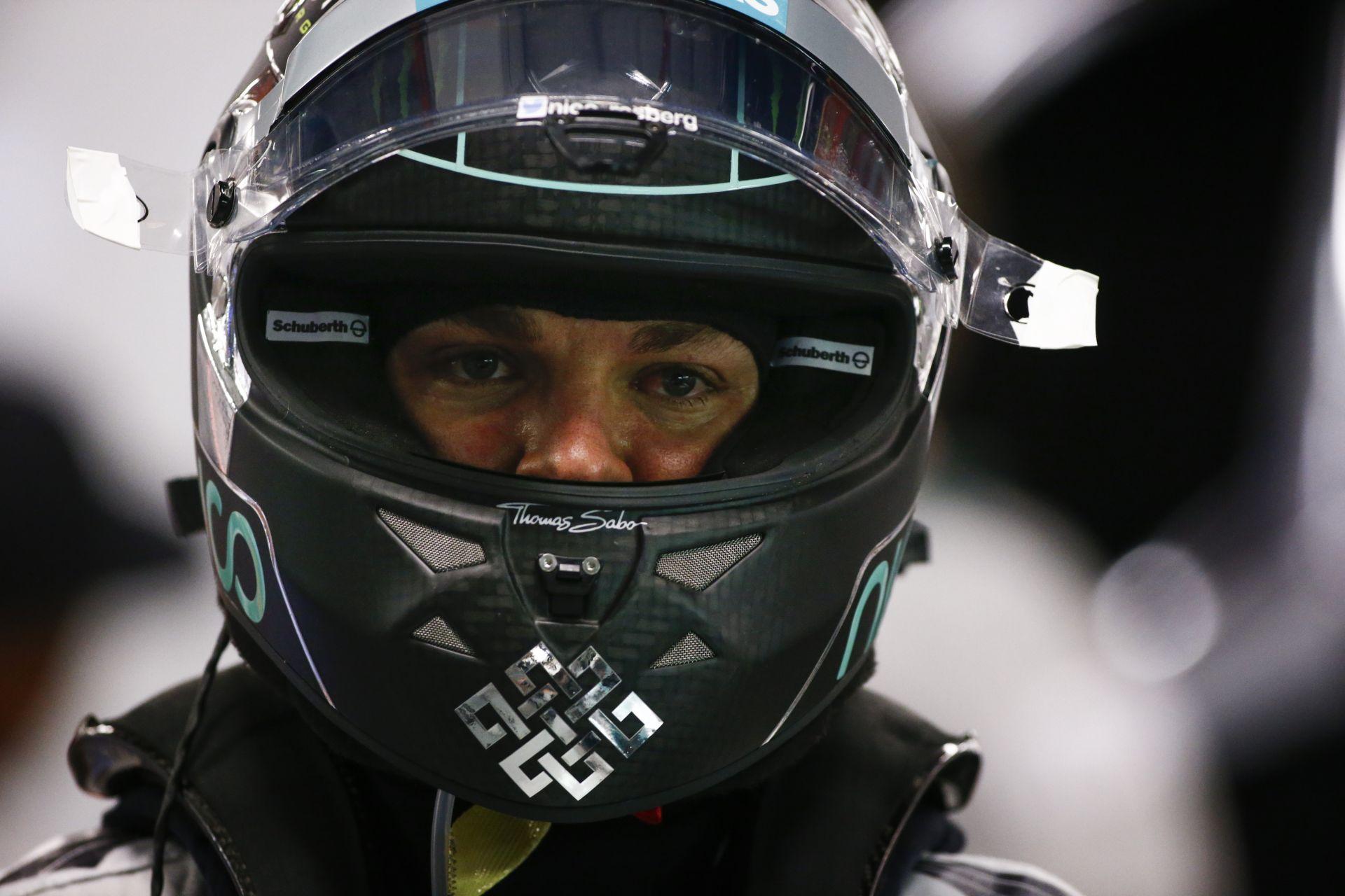 Nico Rosberg nem akarja elhinni a kiesését Szingapúrban
