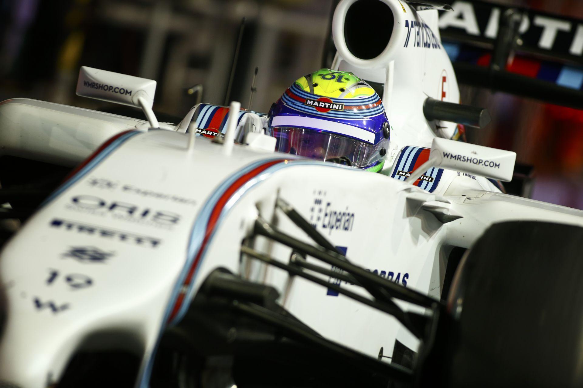 """Massa soha nem fogja elfelejteni a """"megbundázott"""" Szingapúri Nagydíjat"""