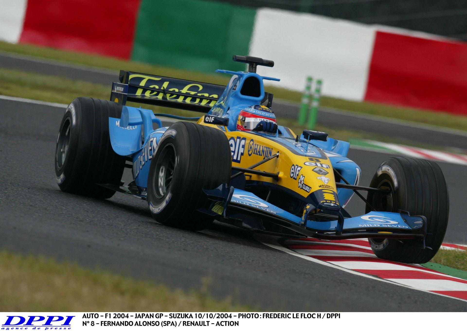 Alonso és a sikító Renault R17 Suzukából: Szenzációs képi és hangi élmény