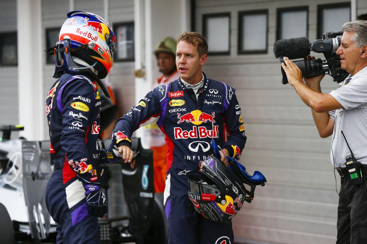 Ricciardo egy állat a volán mögött: 3:0-ra visz Vettel ellen, ami őt is meglepte