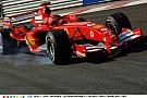 Schumacher nagyon adja neki a Ferrarival: A legendás olasz V10-es hangja Spa-ban