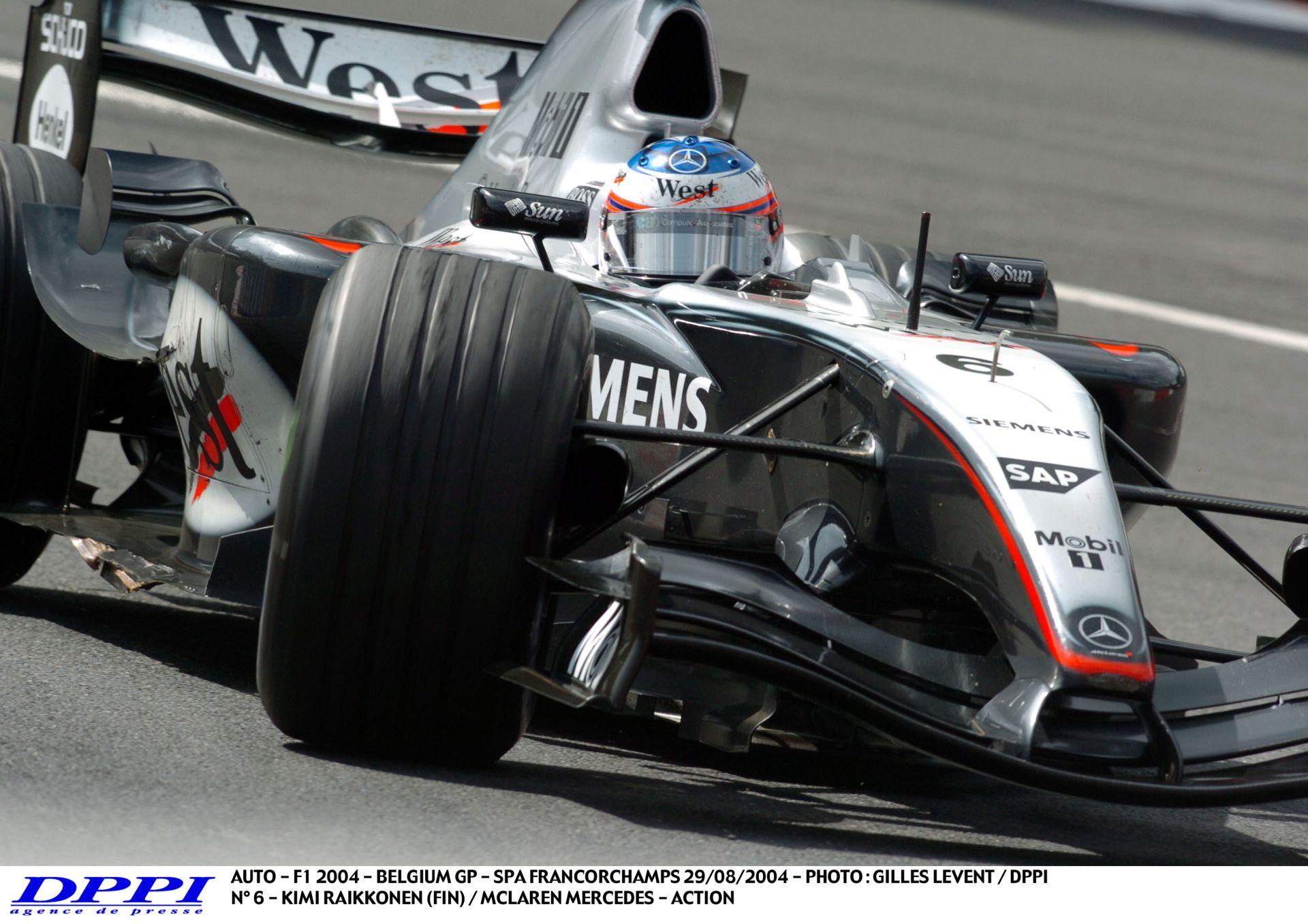11 perc Raikkönennel és a McLarennel Spa-ban!