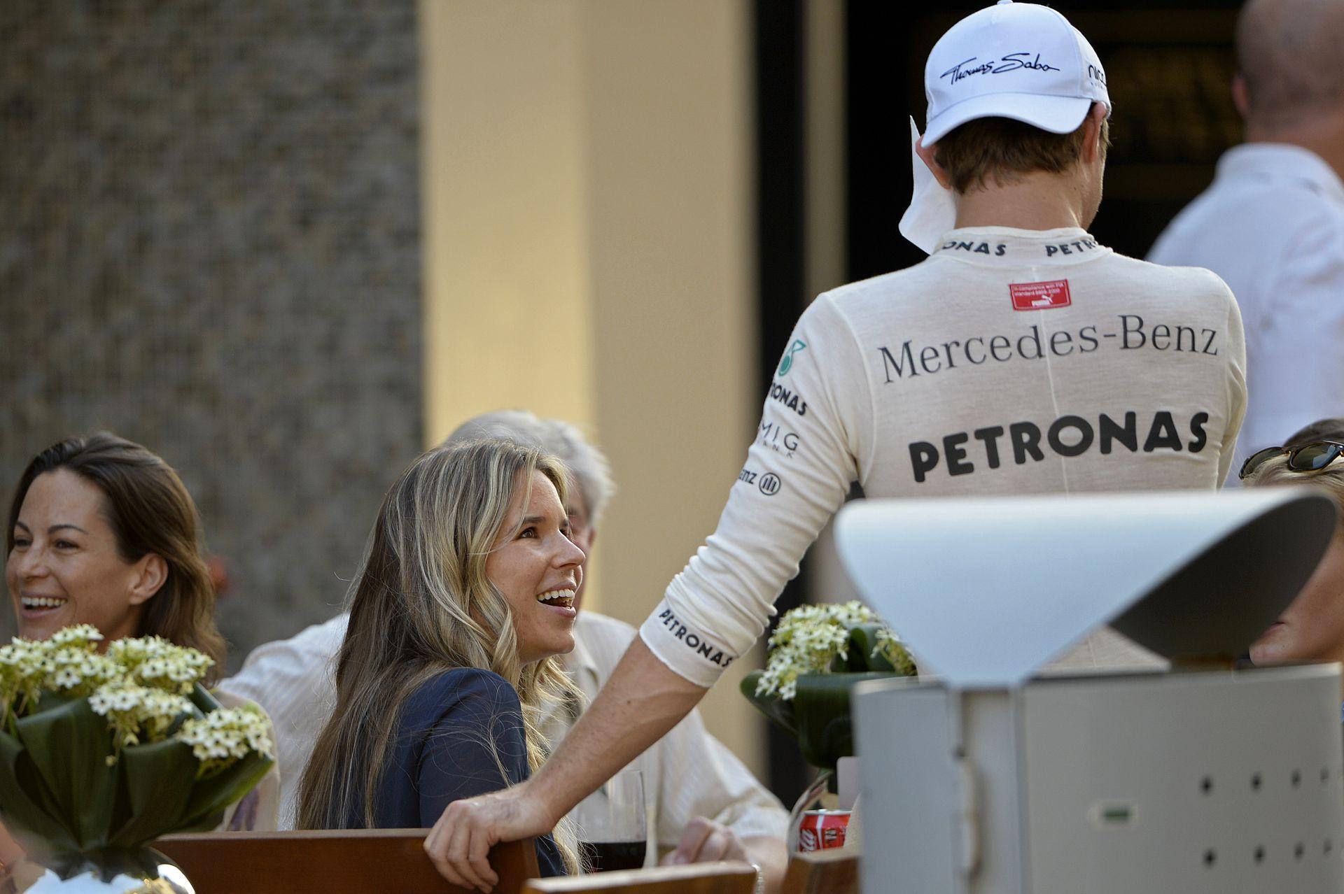 """Rosbergnek a """"kettős kabalája"""" segített a Spanyol Nagydíjon"""
