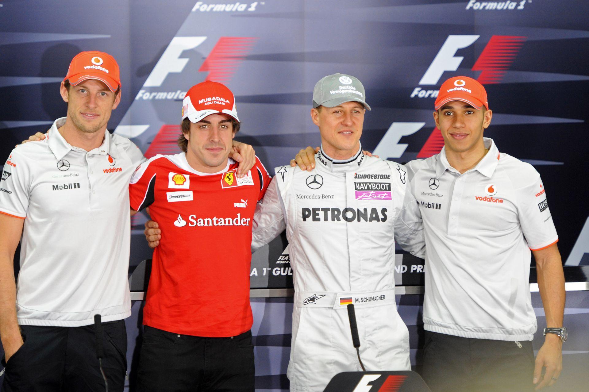 Hamilton szerint Alonso olyan jó, mint Michael Schumacher volt