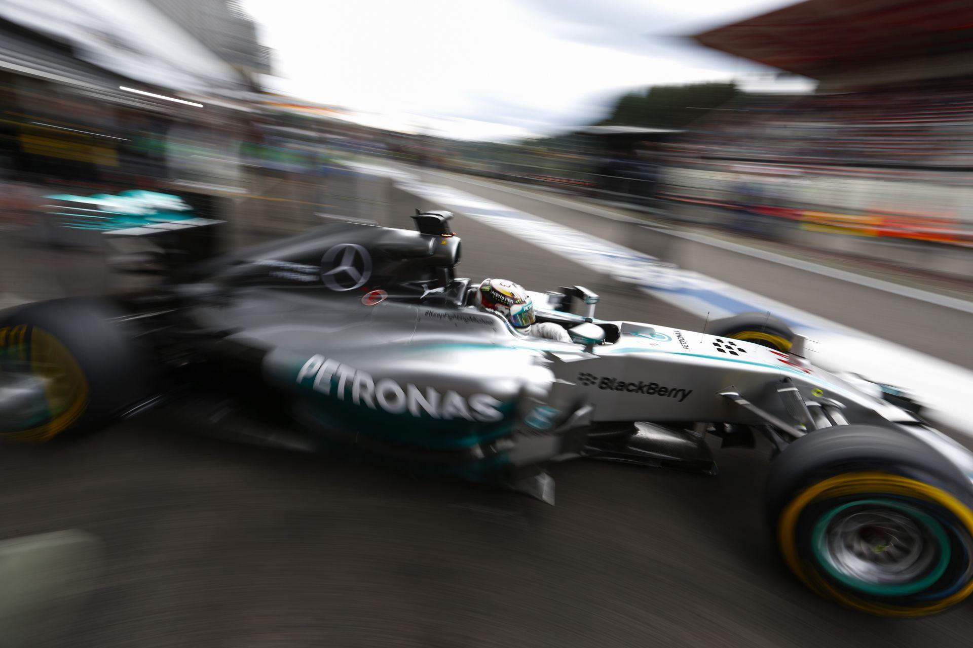 Hamilton: Technikai gondjaim voltak az időmérőn, emiatt vesztettem sok időt