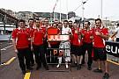Monacói Nagydíj 2014: Bianchi pontszerzése