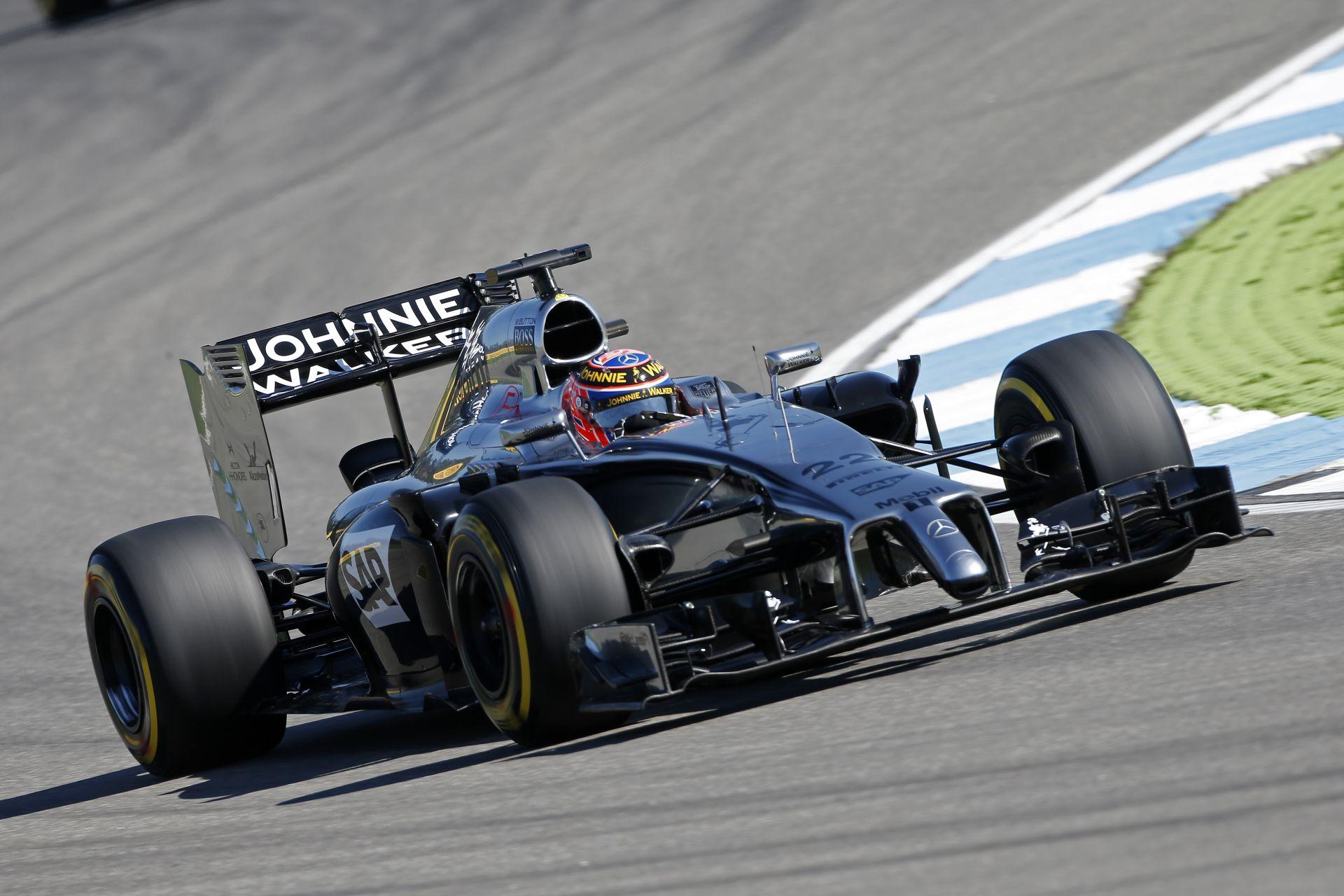 McLaren: Button és Magnussen is jónak érzi a FRIC nélküli gépet Hockenheimben