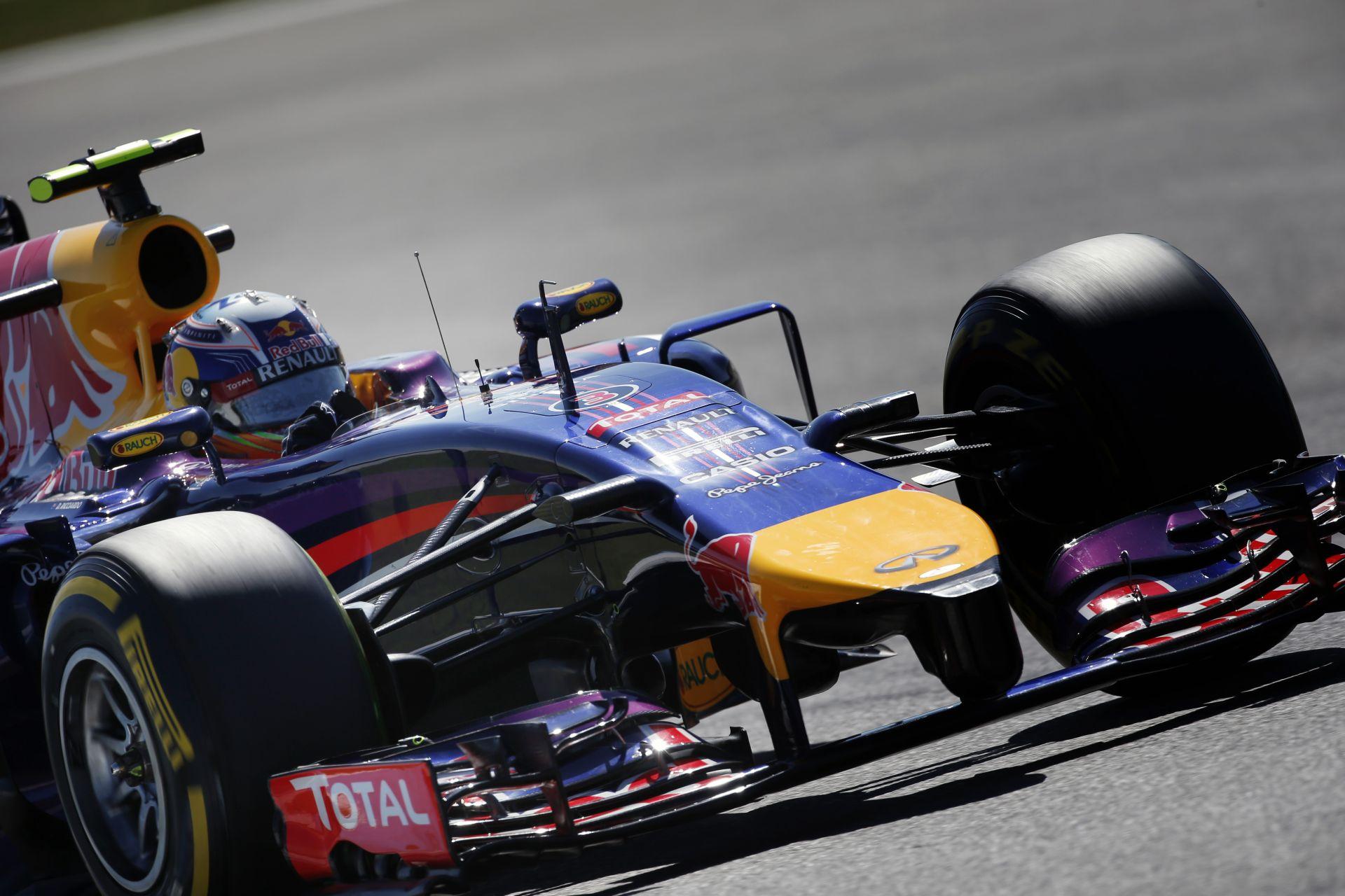 Kétszer annyit kereshet jövőre Ricciardo a Red Bullnál