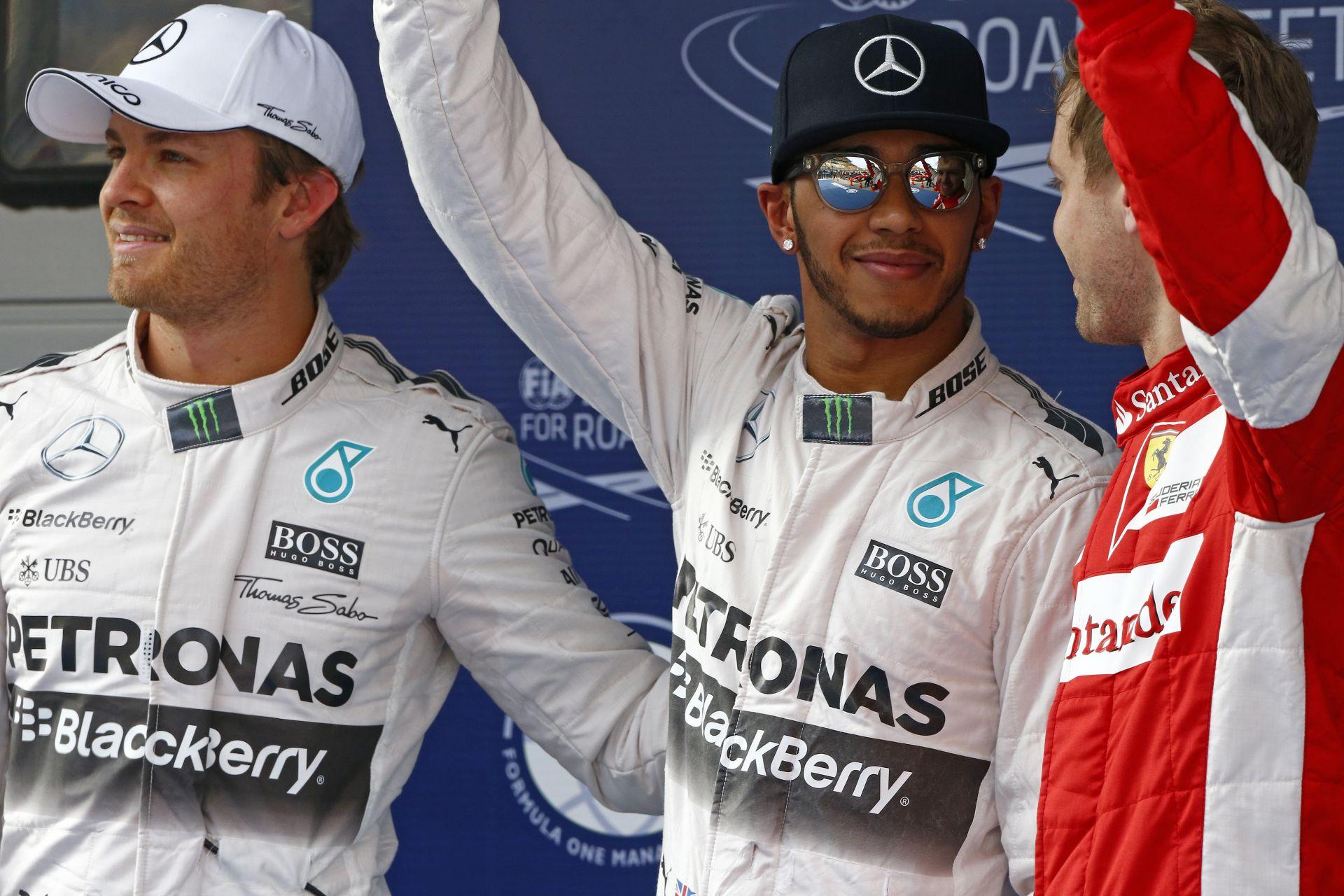Nézd újra a Kínai Nagydíj időmérő edzését: Hamilton, Vettel, Raikkonen és a többiek