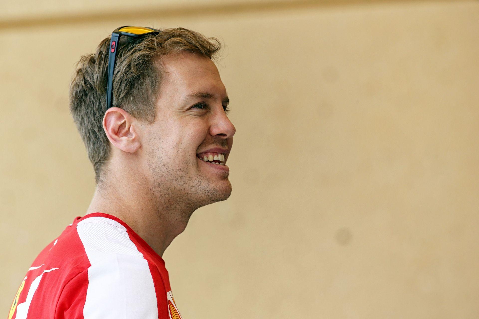 Vettel: Tapadnunk kell a Mercedesre és itt Bahreinben ismét lehet esélyünk!