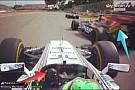 A Force India megosztott egy képet, melyen jól látszik, hogy Massa húzott rá Pérezre