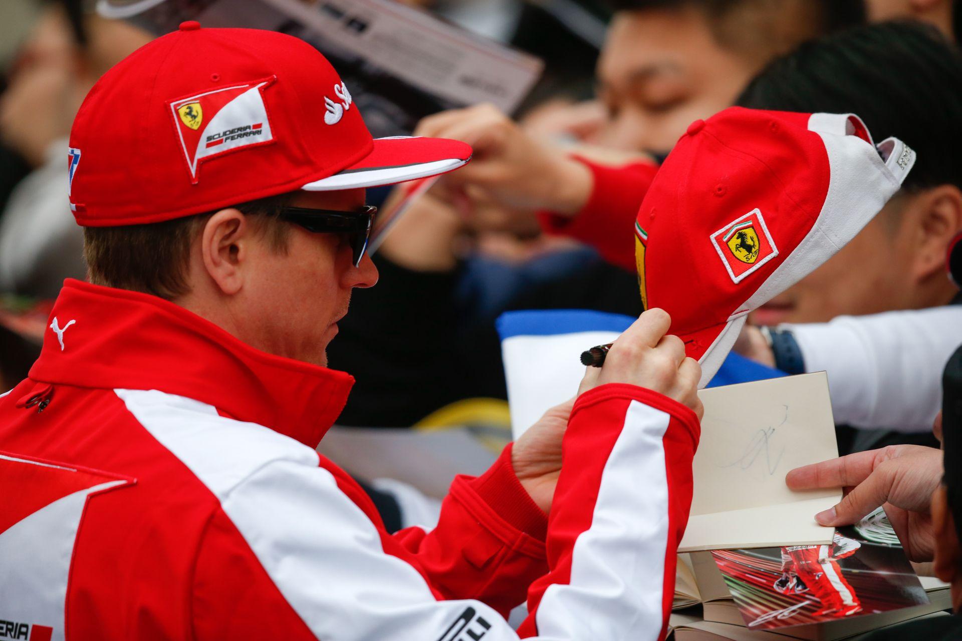 Raikkönen már nem foglalkozik a pénzzel, kevesebbel is beéri a Ferrarinál
