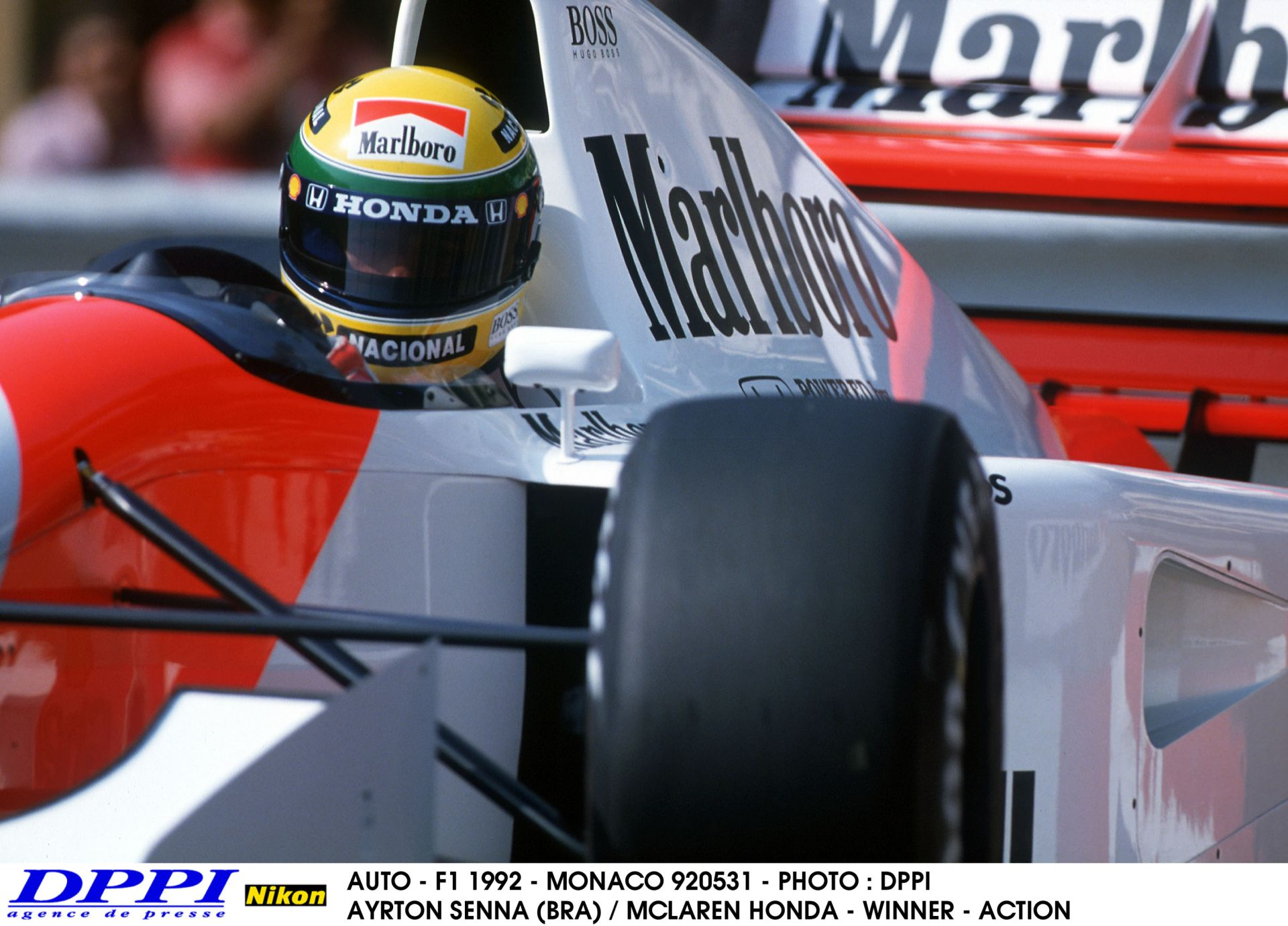 Ayrton Senna Monacót már nem adta oda – 1992