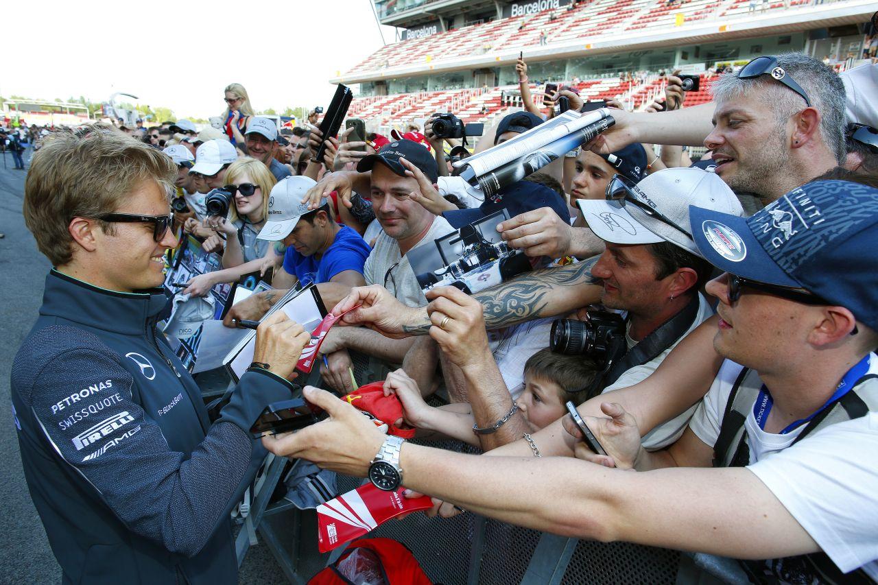 Rosberg: az új kipufogó kétszer olyan hangos, mint az eddig használt