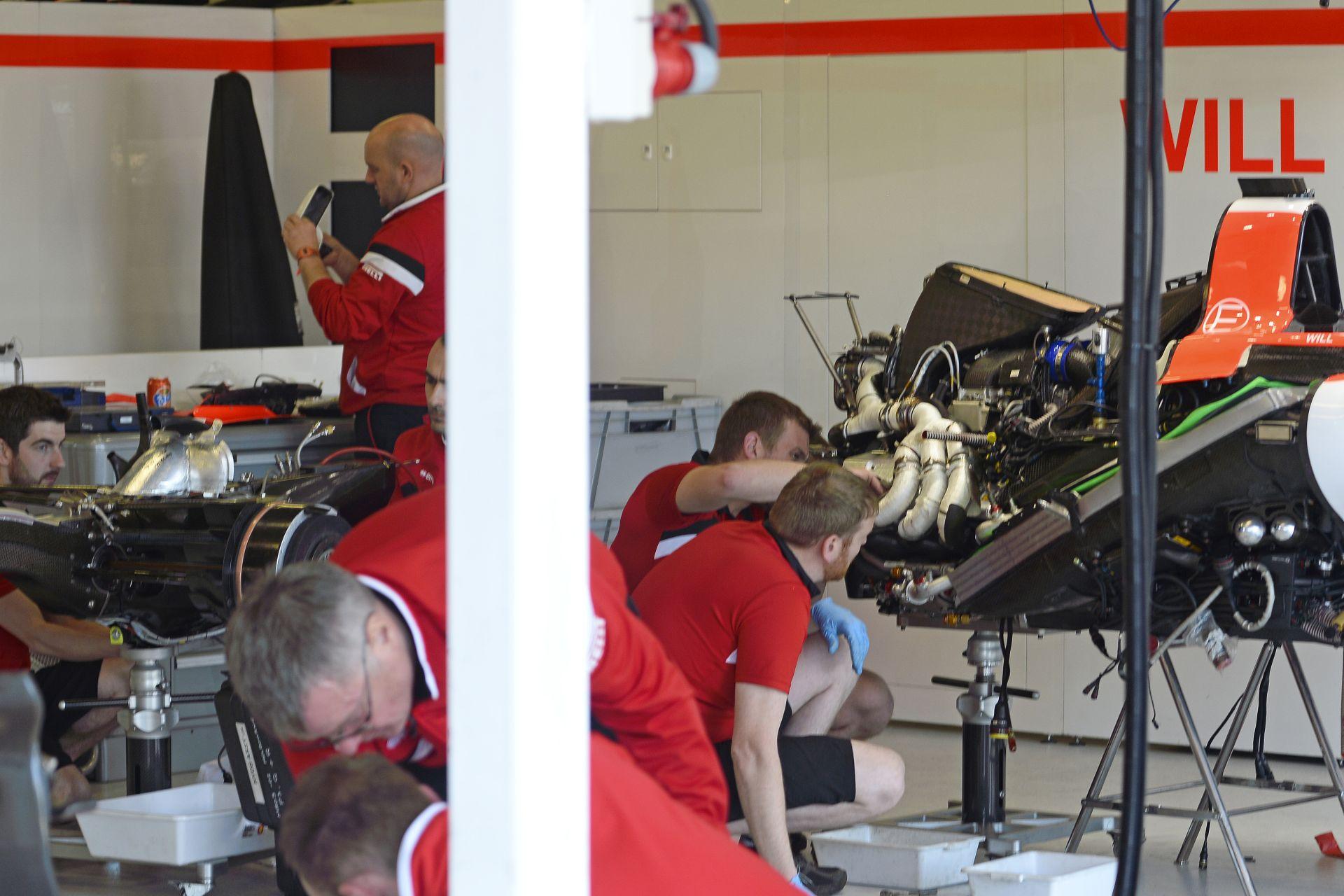 Merhi még virtuális környezetben sem tesztelhette a Manor F1 Team autóját