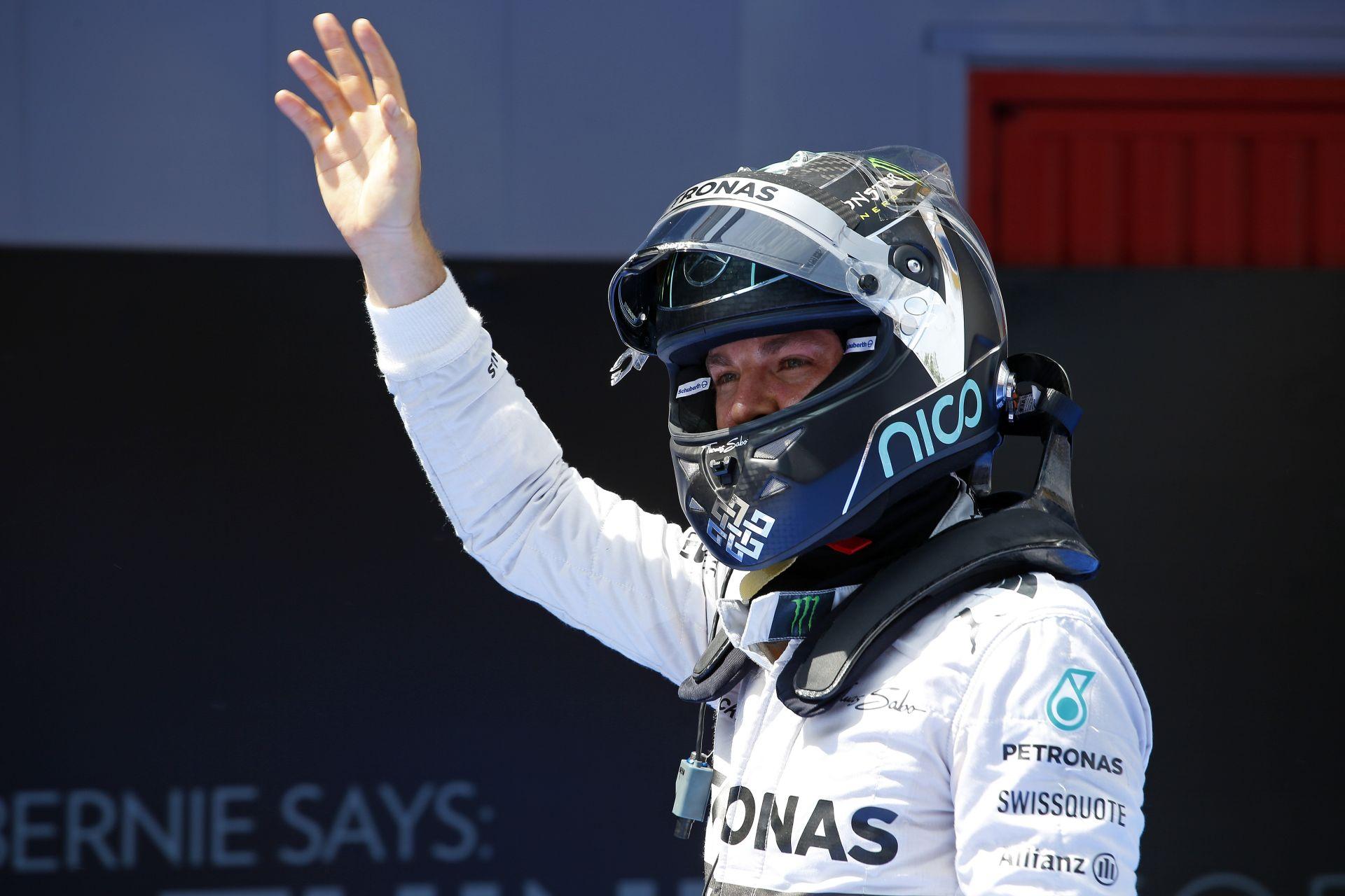 Rosberg azt hitte, már megvan a pole, majd jött Hamilton