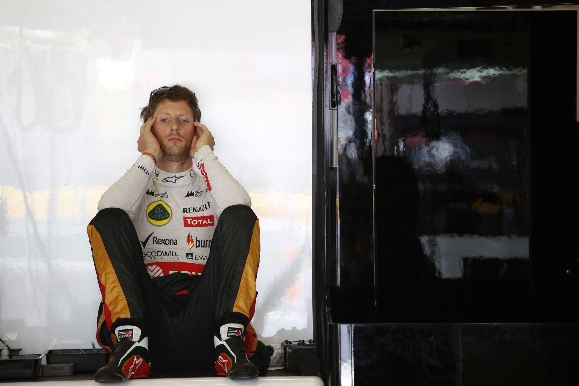 Grosjean megszerezte a Lotus idei első pontjait, Maldonado hozta a formáját